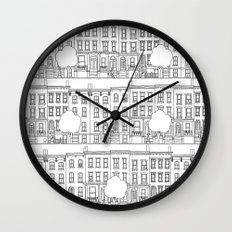 blocks of Brooklyn Wall Clock