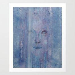 Flukered Art Print