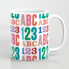 ABC 123 Coffee Mug