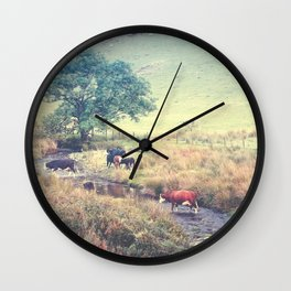 THE COWS COME HOME (everyday 06.01.2017) Wall Clock