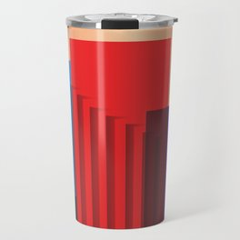 Distressed texture Travel Mug