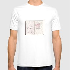 wild hearts can be broken Mens Fitted Tee White MEDIUM