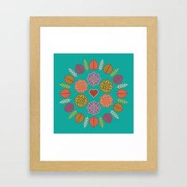 Dia da Terra Framed Art Print