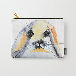 Cute Bunny Nose Carry-All Pouch