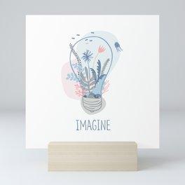 The imaginary aquarium Mini Art Print