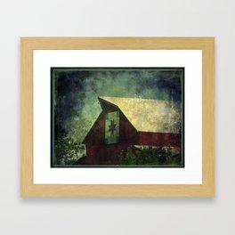Legend Has It Framed Art Print