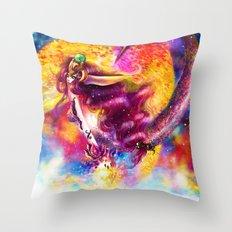 LIRIOPE Throw Pillow