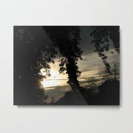 Ending Light Metal Print