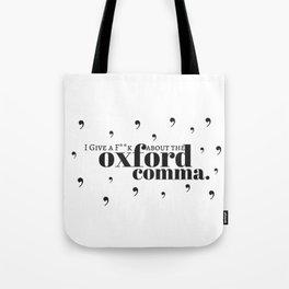 Grammarians Unite (Oxford Comma) Tote Bag