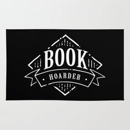 Book Hoarder BW Rug