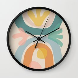 just before summer Wall Clock