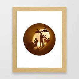 Restaurant Framed Art Print