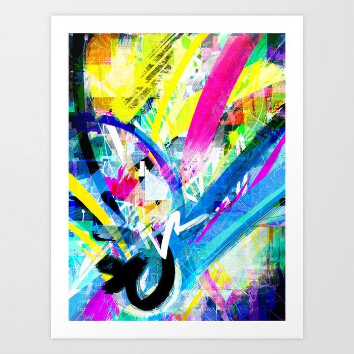 Mediascapes  Art Print