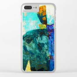 Malevich 2 Clear iPhone Case