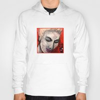 grace Hoodies featuring Grace by Helen Syron