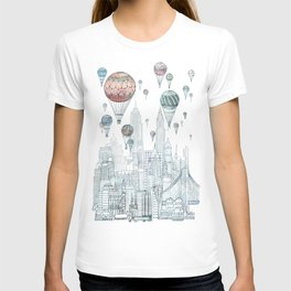 Voyages Over New York T-shirt