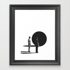 This Mysterious Thing / Ball Trap (2017) Framed Art Print