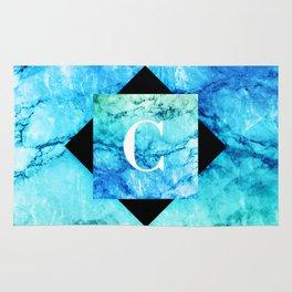 C - Monogram Vivids Rug