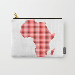 African Dot Map Carry-All Pouch