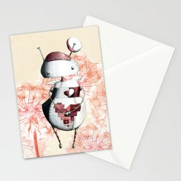 Eros the Lovebot Stationery Cards
