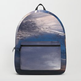Crossroads in the Cloudy Sunset Backpack