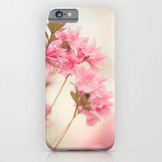 Pink Azaleas Slim Case iPhone 6s
