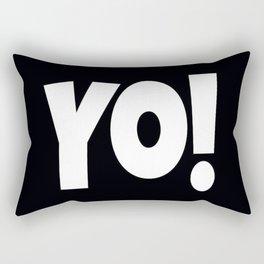 Yo! Rectangular Pillow