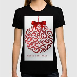 Decorative Christmas Ornament Pattern T-shirt