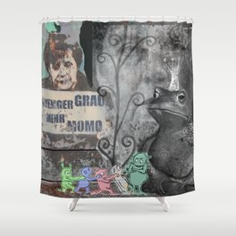 STRANGE DAYS ANGELA! Shower Curtain