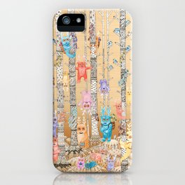 Cute Monsters iPhone Case