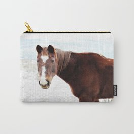 Horse Stud Carry-All Pouch
