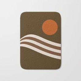 Swell - Cocoa Stripes Bath Mat
