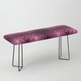 Beautiful Dark Pink glitter sparkles Bench