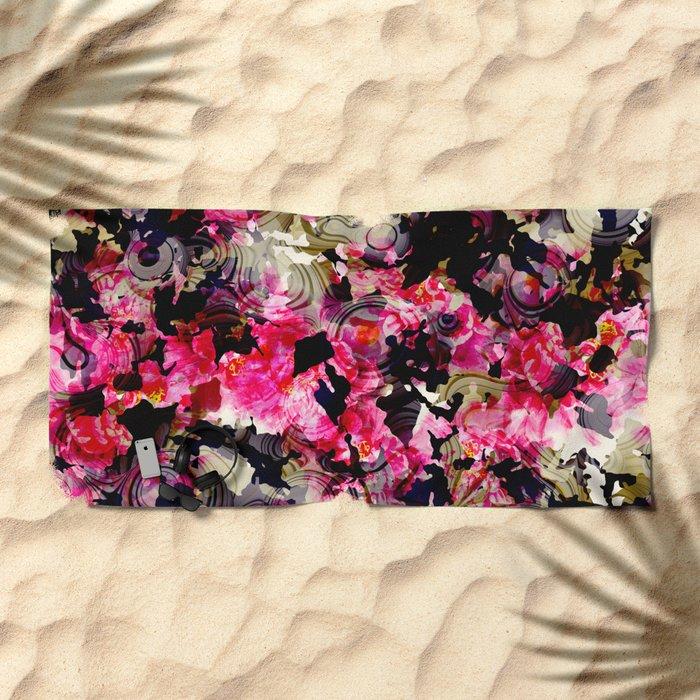 Fashion Textile Pattern Beach Towel