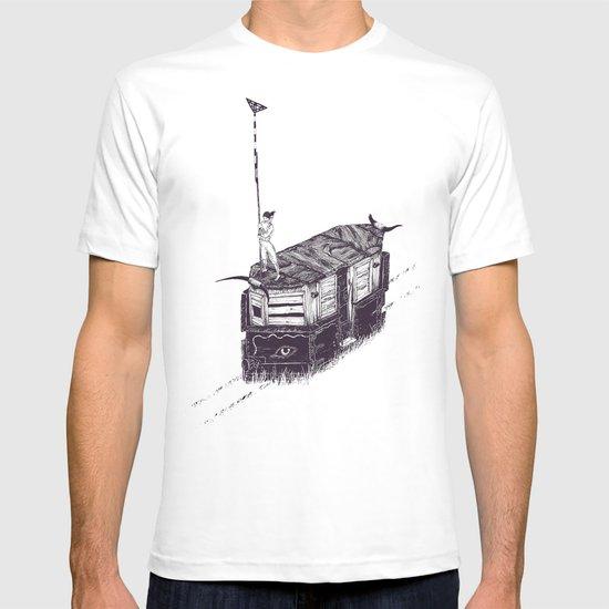 Knife Down, Wings Open T-shirt