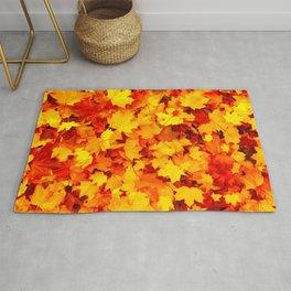 Maple Leaves Rug