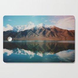 Film photo of New Zealand Glacier Landscape Cutting Board