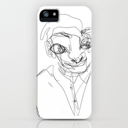 Funny Guy iPhone Case