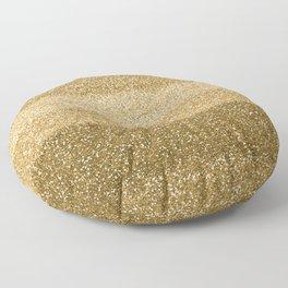 Glitter Glittery Copper Bronze Gold Floor Pillow