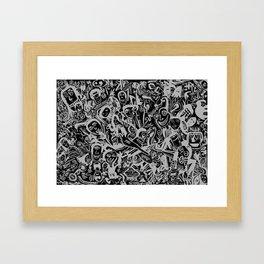 Caras I  Framed Art Print