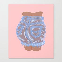 Bubble Butt Canvas Print