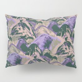 Painted Triangles II Pillow Sham