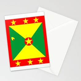 Tropical Vacation Grenada Flag Stationery Cards