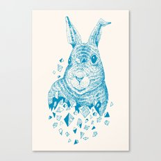Fragments (Rabbit) Canvas Print