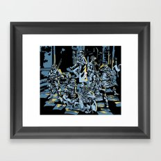 These Colors Don't Shadowrun Framed Art Print