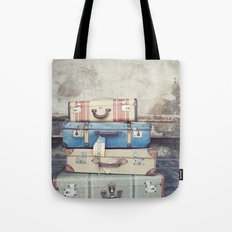 Suitcases Tote Bag