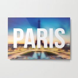 Paris - Cityscape Metal Print