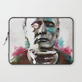 Marlon Brando under brushes effects Laptop Sleeve