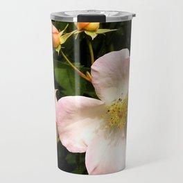 The Sally Holmes Single Rose Travel Mug