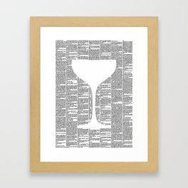 The Great Gatsby Framed Art Print